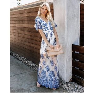 ce57f10b2e02 Vici Dresses | New Bluebell Lace Maxi Dress | Poshmark